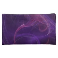 Misty Purple Realm Cosmetic Bag