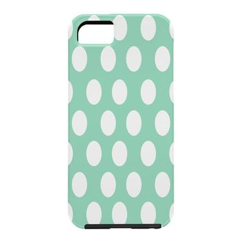 Allyson Johnson Mintiest Polka Dots Cell Phone Case