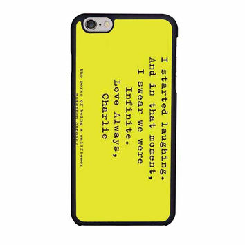 perks of being a wallflower iphone 6 6s 4 4s 5 5s 6 plus cases
