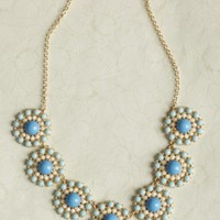 summer lagoon floral necklace at ShopRuche.com