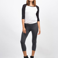 Basic Crop Leggings