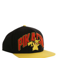 Pokemon Pikachu Snapback Ball Cap