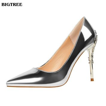 BIGTREE Shoes New Fashion High Heels