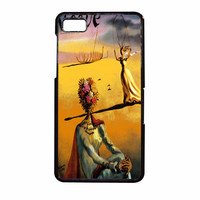 Salvador Dali Woman With Flower Head Vogue BlackBerry Z10 Case