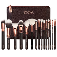 Zoev Brushes Full Professional Makeup Kit 15 Pcs Make up Brushes Set With Bag Makeup Brushes Tools Morphe Brushes