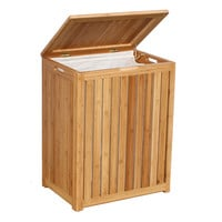 Oceanstar Spa-Style Bamboo Laundry Hamper BRH1248