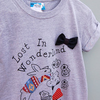 Alice in Wonderland T-shirt by Not For Ponies