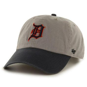 ONETOW Mlb 47 Brand Detroit Tigers Mens Clean Up Hat