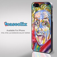 Albert Einstein Color for Smartphone Case