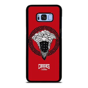 CROOK AND CASTLES BANDANA RED Samsung Galaxy S8 Plus  Case