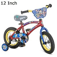 Paw Patrol 12 Inch Toddlers,Kids Bike,Bicycle with Training Wheels, Tricycle