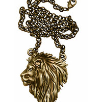 Tattoo Fashion Kitsch N Kouture Lion King Necklace - Necklaces