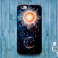 iPhone 4 4s 5 5s 5c 6 6s plus iPod Touch 4th 5th 6th Generation Cute Sun Moon Black Purple Jewelery Adorable Cover Beautiful Fun Phone Cover
