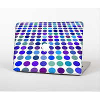 """The Blue and Purple Strayed Polkadots Skin for the Apple MacBook Pro 13"""""""