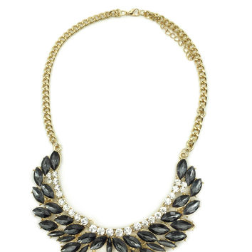 Wild black necklace