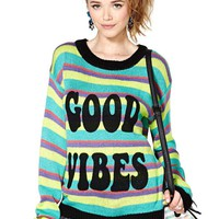 MinkPink Good Vibes Sweater