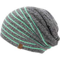 Empyre Girls Juliet Grey Mint Stripe Beanie at Zumiez : PDP
