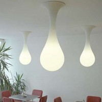 Polyethylene ceiling lamp Liquid Light Collection by Next Home Collection e.K. | design Hopf & Wortmann