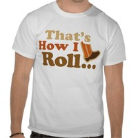 This Is How I Roll Marching Band Shirt from Zazzle.com
