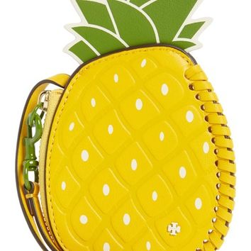 Tory Burch Pineapple Leather Coin Pouch | Nordstrom