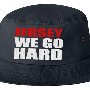 jersey we go har bucket hat