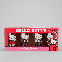 Urban Outfitters - Hello Kitty Pint - Set Of 4