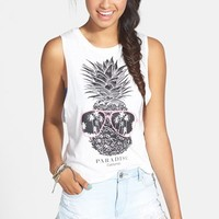 PPLA Pineapple Graphic Muscle Tank (Juniors)