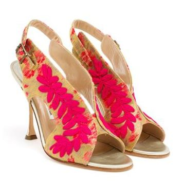 MANOLO BLAHNIK | Passage Sandals | Browns fashion & designer clothes & clothing