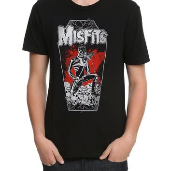 Misfits LEGACY OF BRUTALITY COFFIN Punk Rock T-Shirt NWT Licensed & Official