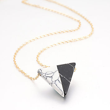 New Arrival Shiny Gift Jewelry Pendant Stylish Turquoise Accessory Necklace [8804709831]