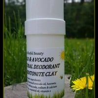 SAMPLE SIZE COMBO, Natural Deodorant and Tooth Powder Combo, Remineralizing Tooth Powder, Organic Safe Deodorant