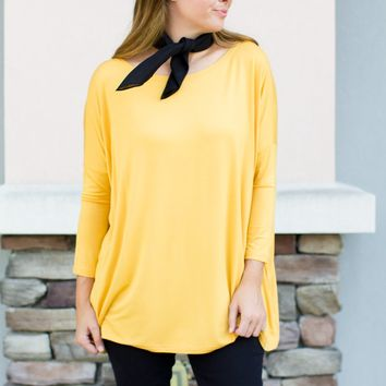 PIKO 3/4 Sleeve Top - Mimosa