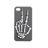 Peace Skeleton Hand iPhone Case - 807908