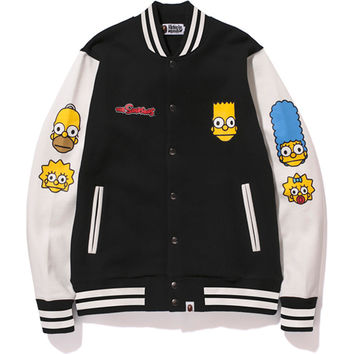 MILO THE SIMPSONS SWEAT VARSITY JACKET /AP