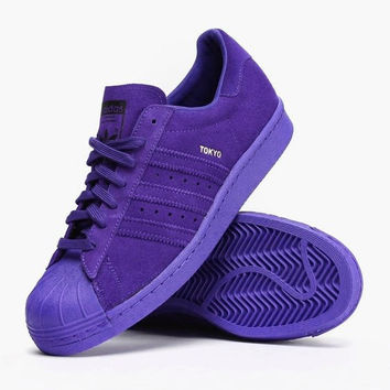 Adidas SUPERSTAR CITY SERIES Shell-top (6-color) Purple