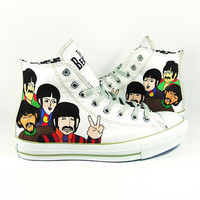 The Beatles , Custom converse chucks