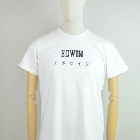 EDWIN Japan T-Shirt in White