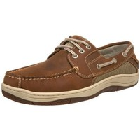 Dockers Men's Gimball Lace Up Boat Shoe,Dark Tan,9 M US