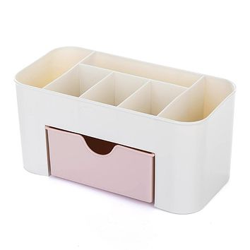 Y58 Plastic Cosmetic Storage Box Multi-functional Desktop Storage Boxes Drawer Makeup Organizers Fashion Stationery Boxes