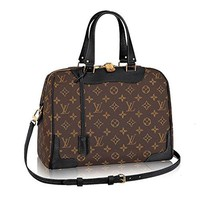 Authentic Louis Vuitton Monogram Canvas Retiro NM Tote Handbag Article:M50058 Noir Made in France  Louis Vuitton Handbag