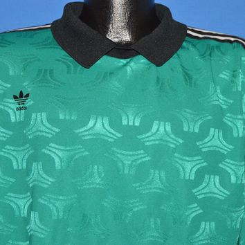 90s Adidas Soccer Goal Keeper Jersey t-shirt Extra Large