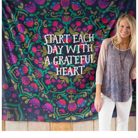 Natural Life Tapestry - Start Each Day