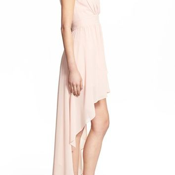 TFNC 'Hadie' High/Low Ruched Dress | Nordstrom
