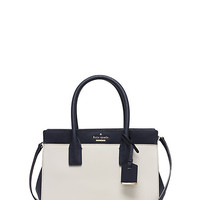 Kate Spade Cameron Street Small Candace Satchel Cement/Off Shore ONE