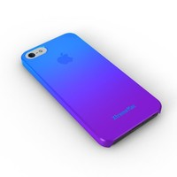 XtremeMac IPP-MFN-23 Microshield Fade Case for iPhone 5/5s - Peacock Blue/Grape Jelly Purple