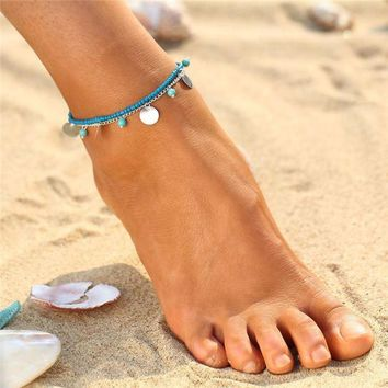 Turquoise Anklets 5 Different Styles