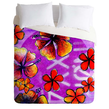 Sophia Buddenhagen Tropical Bali Duvet Cover