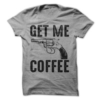 Get Me Coffee T-Shirt Pot Head Tshirt Coffee Shirt Funny Coffee Mug shirt Mens Shirt Womens Tees Coffee Drinker Gift Shirt
