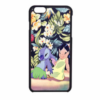 Lilo And Stitch Dancing Floral iPhone 6 Case