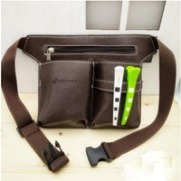 New Professional Barber Scissors Bag Waist Pack Hairdressing Tool Pouch